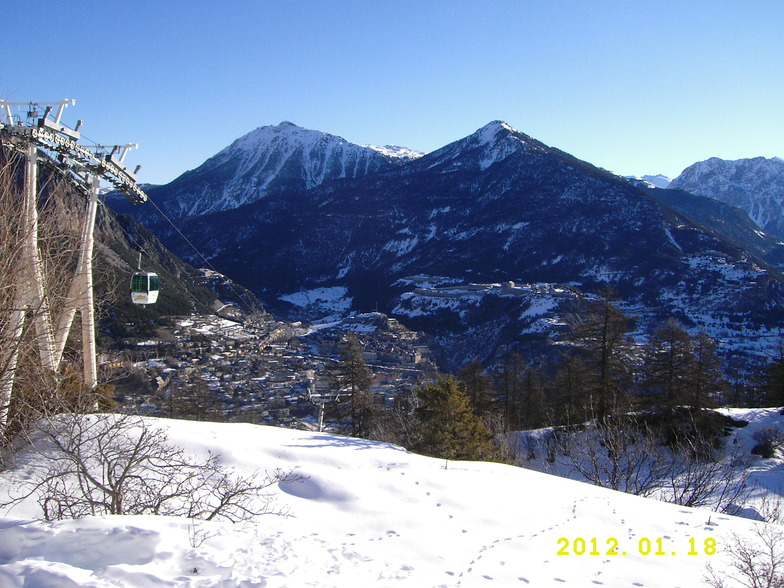 Briancon snow