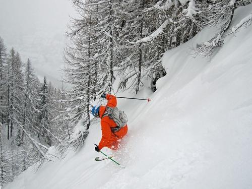 Bruson Ski Resort by: David Roberts