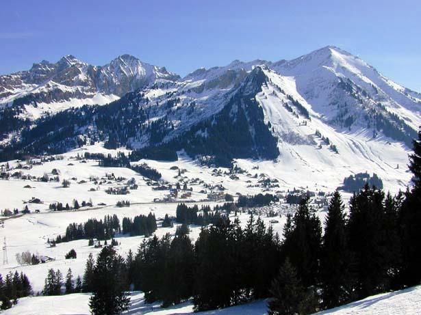 Les Mosses - La Lécherette snow