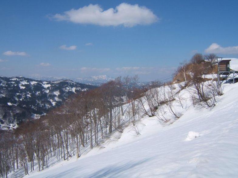 Matsunoyama Onsen snow