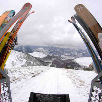 Lifting with Snow Cab, Brezovica