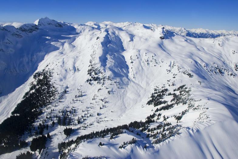 Powder Mountain Catskiing snow