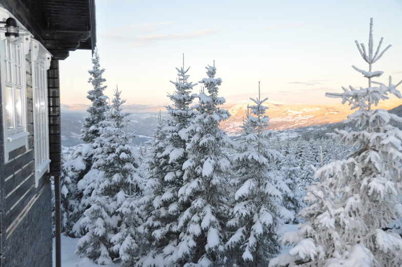 Just before Christmas, Hafjell