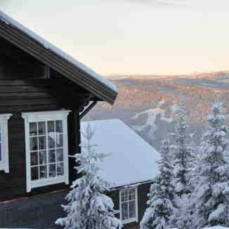 Perfect view for your ski holiday, Hafjell