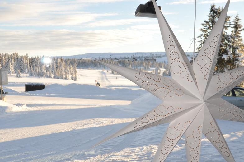 Nordic ski tracks of Hafjell