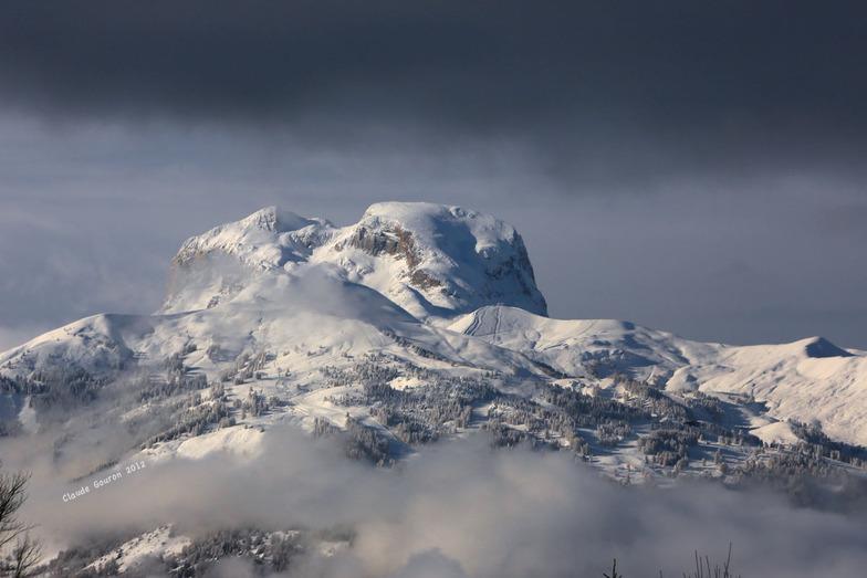 Pra Loup (Espace Lumière) snow