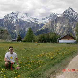 Belle journée à les Alpes, Les Deux Alpes