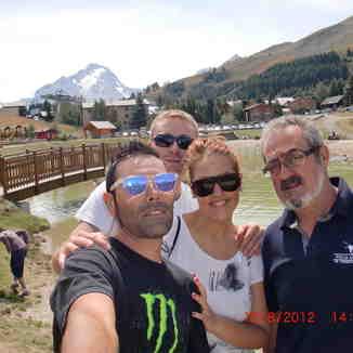 Vacances en famille, Les Deux Alpes