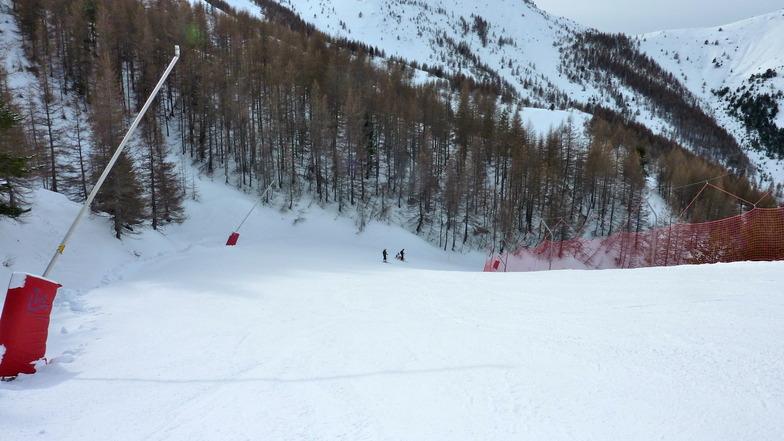 "slope ""les Aigles"", Valberg"