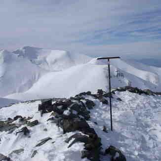 نماي قله هاي كهار و ناز از فراز كهار, Tochal
