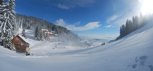 Snow making, Golte photo