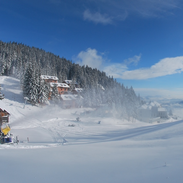 Snow making, Golte