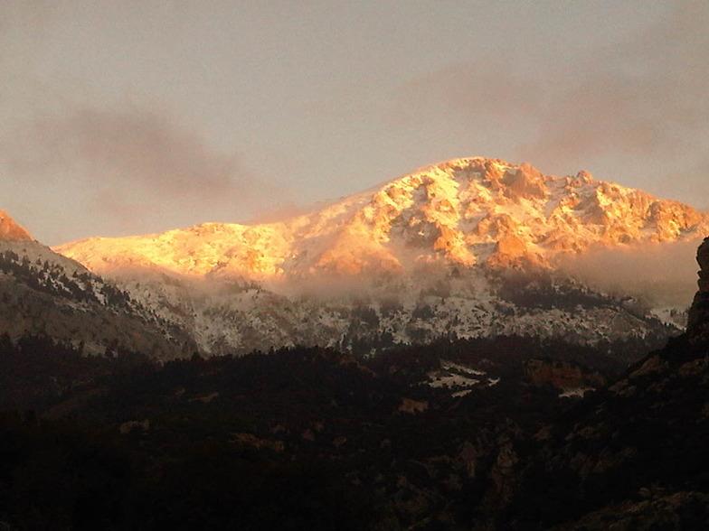 Parnassos South Side, Mount Parnassos