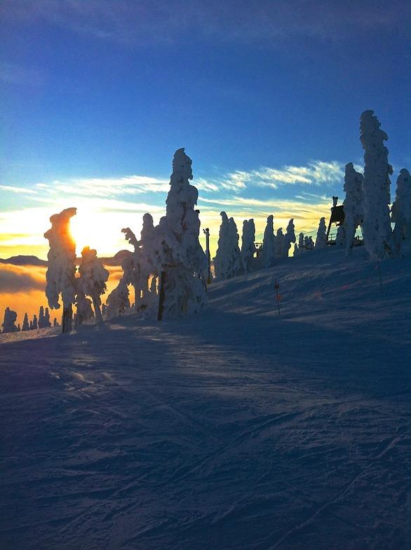 Sunset, Mount Washington