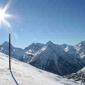 Sun over Les 2 Alpes, Les Deux Alpes