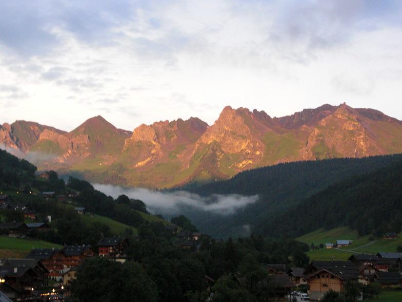 Aravis Mountains, La Clusaz