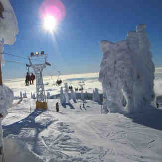Sky Chair - Dec 30, 2012, Cypress Mountain