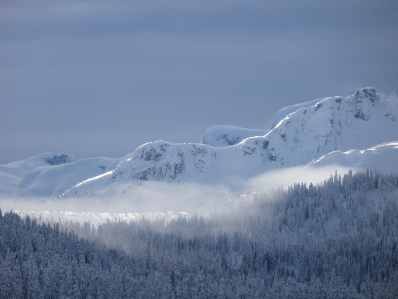 Misty Mt, Mount Washington