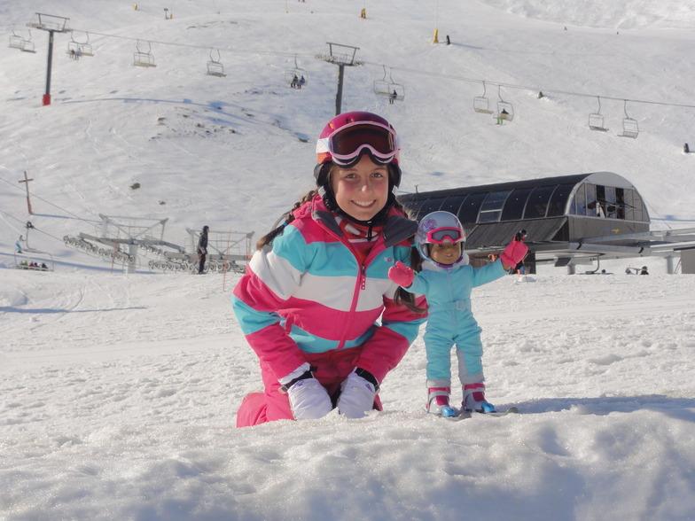 Georgina & Scarlett, Mt Hutt