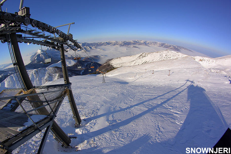 Top lift view, Brezovica