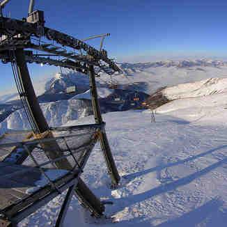 Top lift view, Brezovica