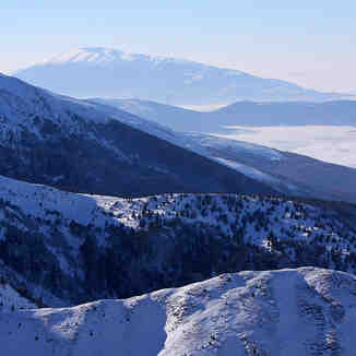 Sharr ridges from Brezovica