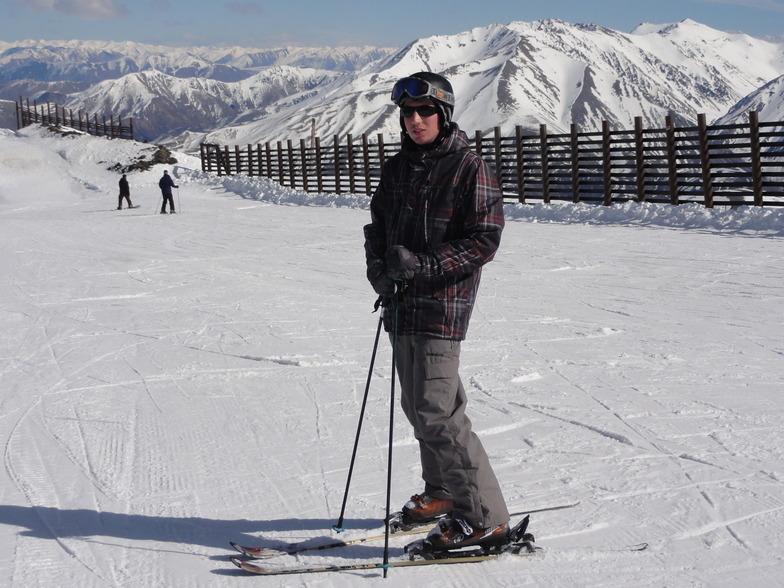 Chris at Mt Hutt