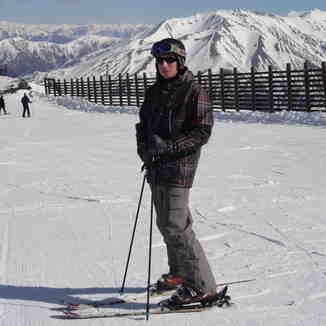Chris at Mt Hutt