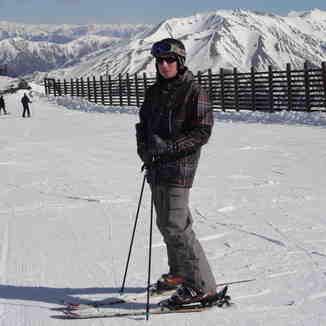 Chris at Mt Hutt, Mount Hutt