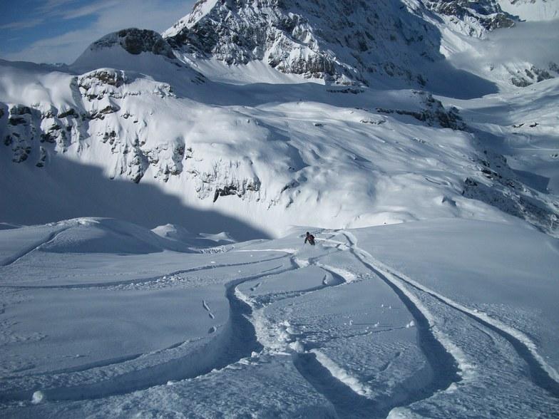 Engelberg snow
