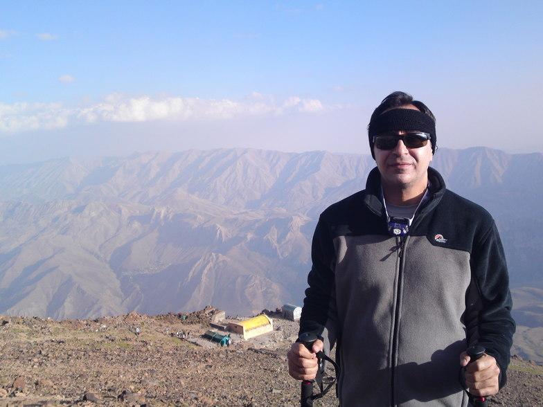 Bijan Abtahi, Mount Damavand