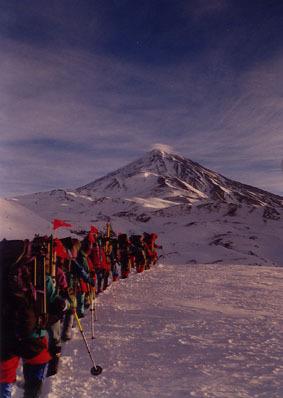 Mt.Damavand - West face, Mount Damavand