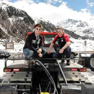 Snowcat ride, Livigno