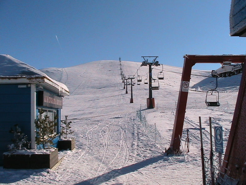 Akdağ Ski Center snow