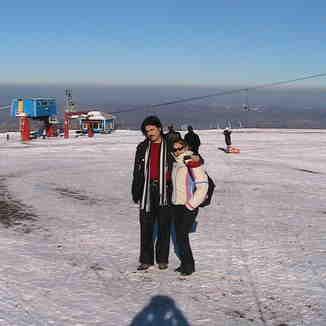Akdağ Pist yandan görünüm, Akdağ Ski Center
