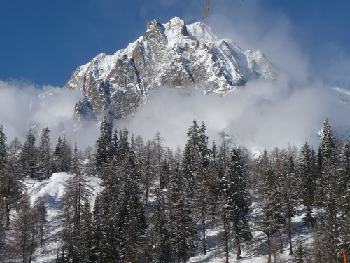 Courmayeur Ski Resort by: Sally Staveley