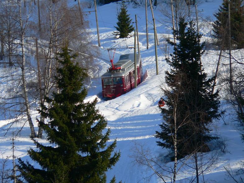 Tramway du Mont Blanc, Les Houches