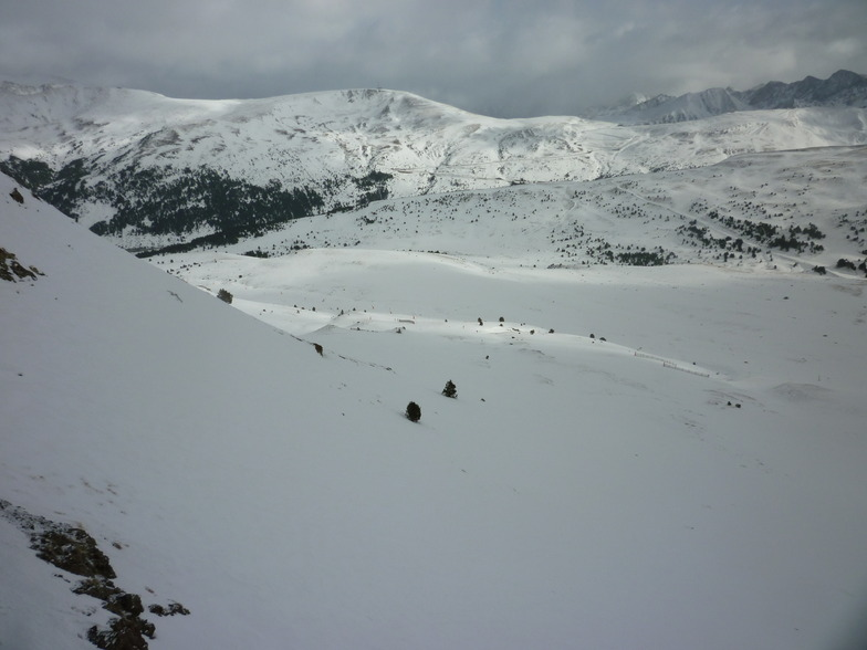 view from restaurant, Grandvalira-Soldeu
