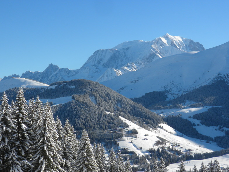 Another gorgeous day...., Megeve