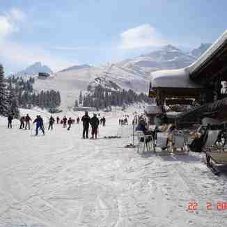 Half Way Down Verdons - Courchevel 1850
