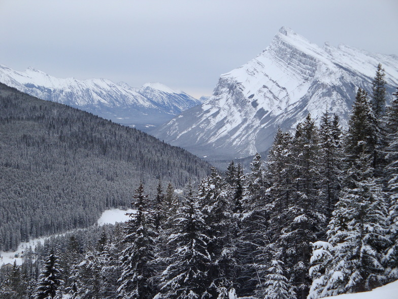 Banff Mt Norquay snow