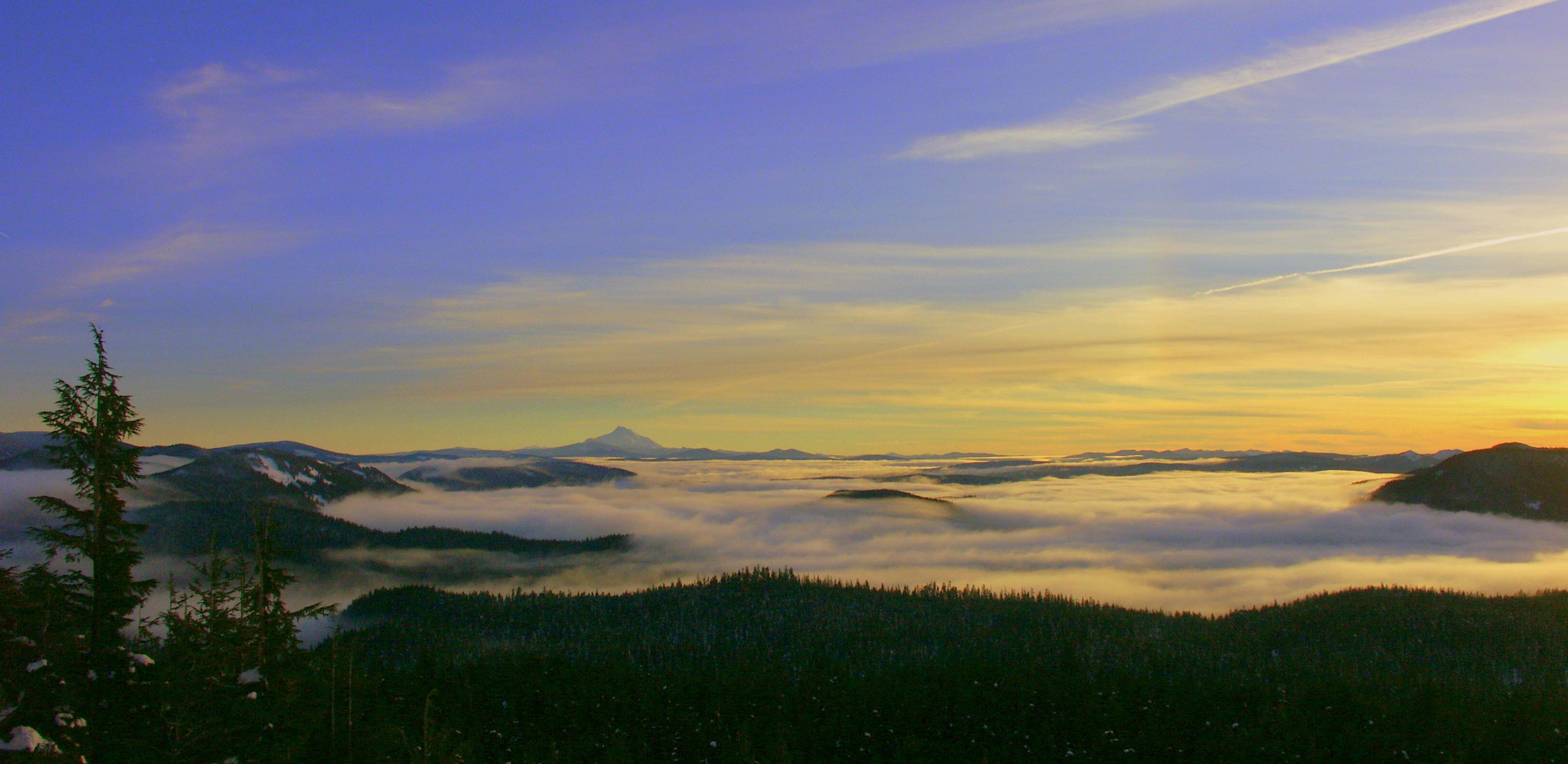 fantastic ski day --Mount Hood, Mt Hood Meadows