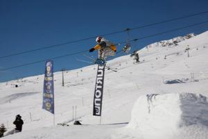 PLESS JUMP, Passo Tonale photo
