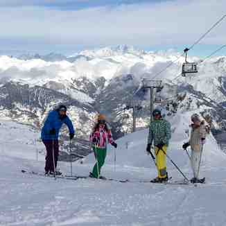 Xmas 2012, Courchevel