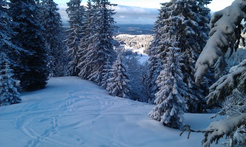 Les Rousses snow