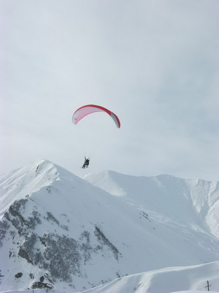 Paragliding in Gudauri