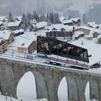 Allmendhubel Train, Mürren