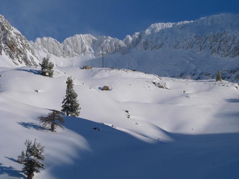 Isola 2000 snow