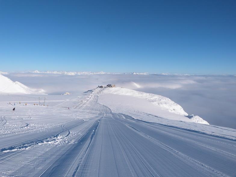 Passo Stelvio snow