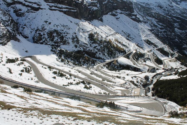 route, Passo Stelvio
